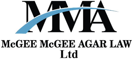 McGEE McGEE AGAR LAW LIMITED